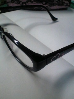 ついにメガネ